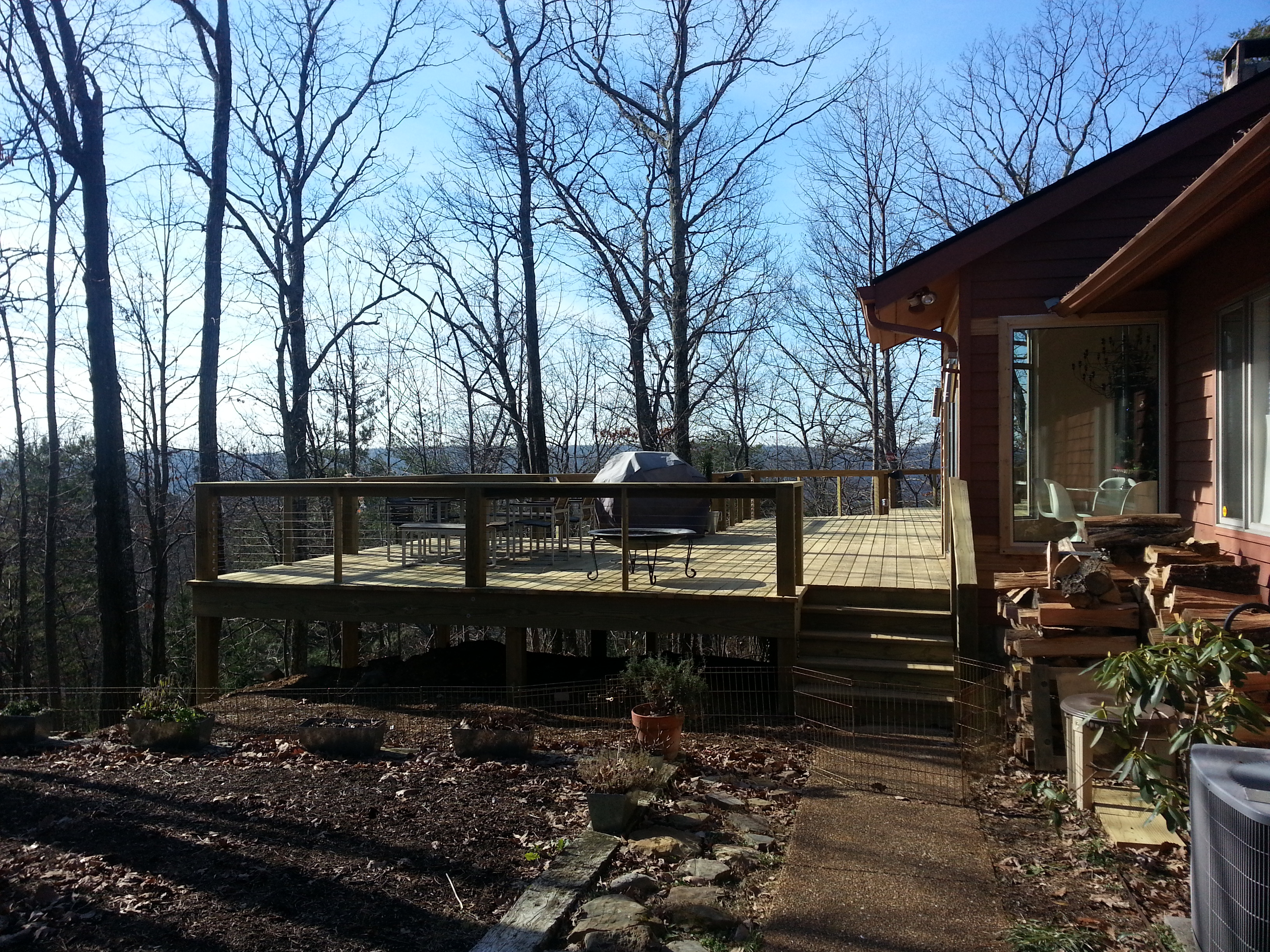 Treated Decks: Ooltewah, Chattanooga, TN: Complete Remodeling ...