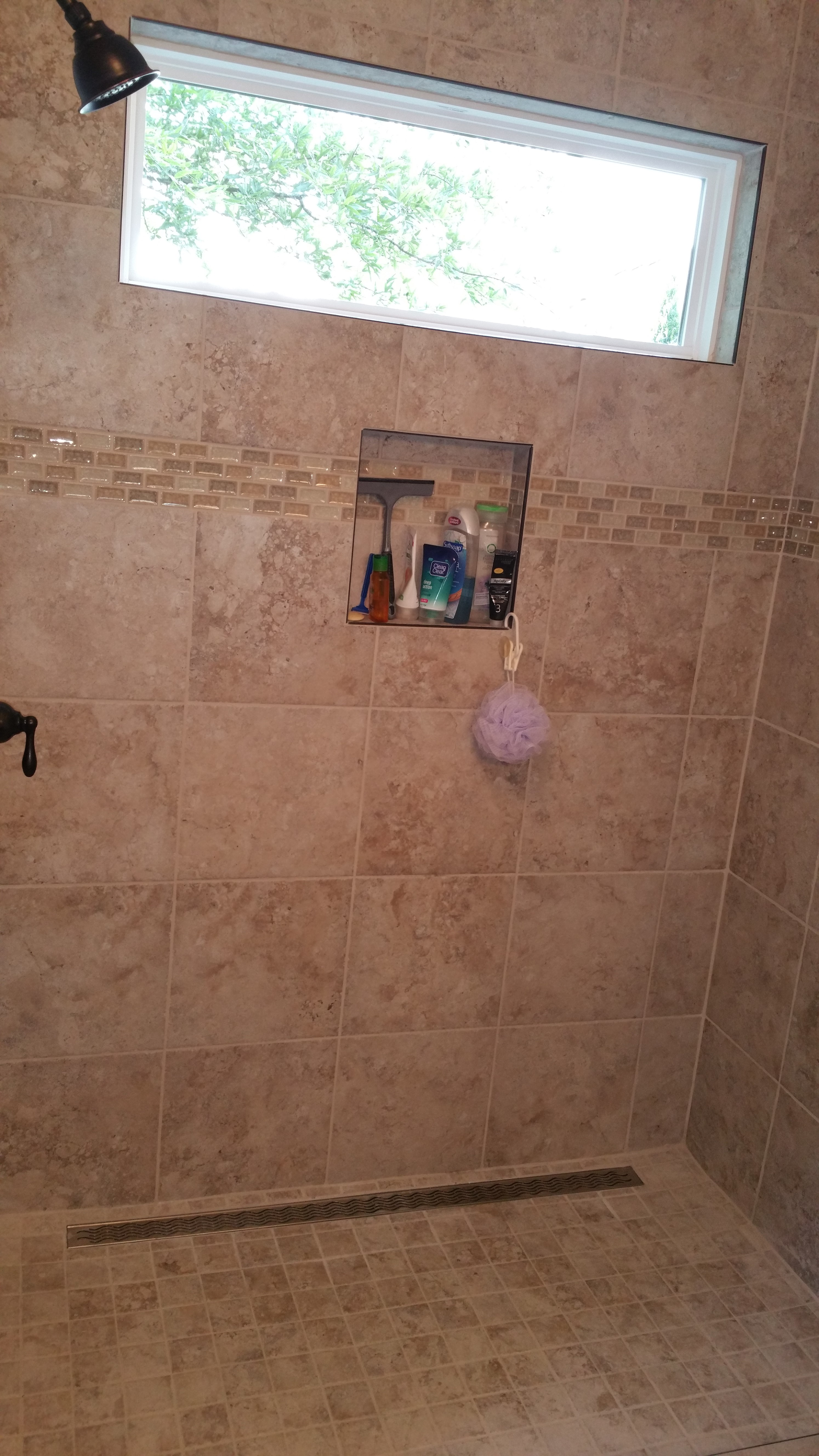 Shower niche ooltewah chattanooga tn complete for Niche siding